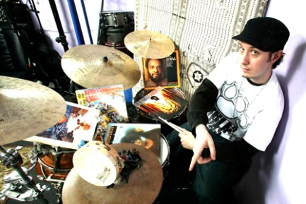 Drummer Adam Deitch