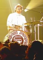 Drummer Antonio Chiappetta of King Farook