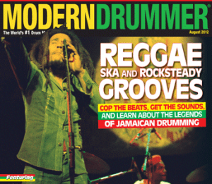 August 2012 Cover Issue Special Reggae