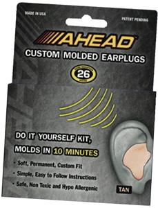 Ahead Custom Molded Earplugs Modern Drummer 300