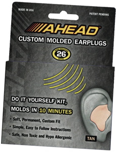 Ahead Custom Molded Earplugs Modern Drummer 300