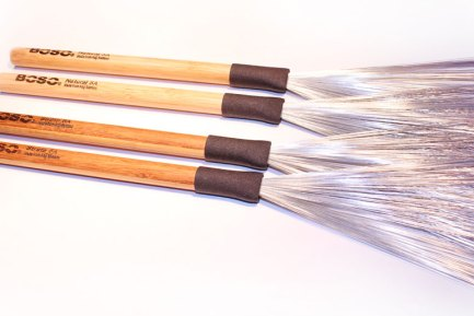Boso Bamboo Drumsticks Introduces New Fixed Handle Wire Brushes
