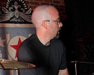 drummer Brad Ellsworth of Boxwave