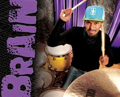 "Guns 'N' Roses' Drummer Bryan ""Brain"" Mantia"