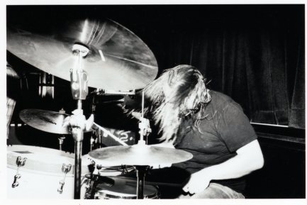 "drummer Brett ""the Ratt"" Romnes of I Am the Avalanche"