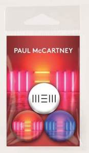 Win a Copy of Paul McCartney's New Album, New! Cube Buttons