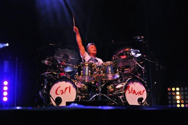 Drummer Carl Palmer
