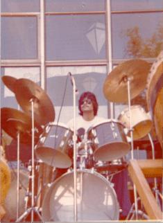 Drummer Carlos Vega