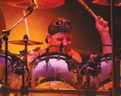 Drummer Chuck Burgi with Billy Joel