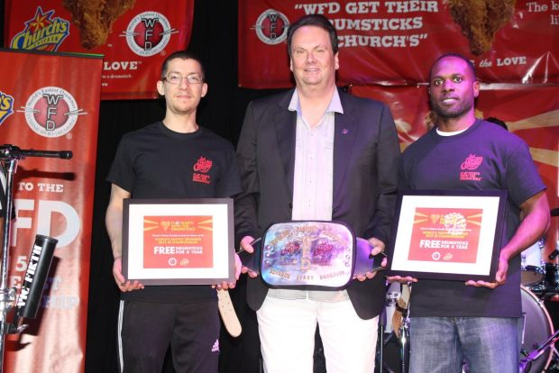 Church's Chicken and World's Fastest Drummer Name Charles Goodwin and Joshua Robinson Southeast Champions for 2015
