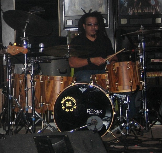 Drummer Deacon Washington of Ghostwork