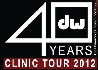 DW40 Clinic Tour Modern Drummer