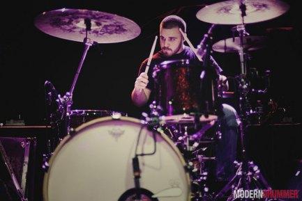 Drummer Daniel Frazier of Transit blog