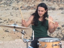 drummer Dan Lamagna of Suicide City