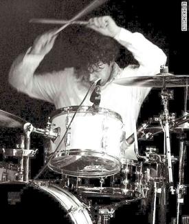 Drummer Dennis Leeflang