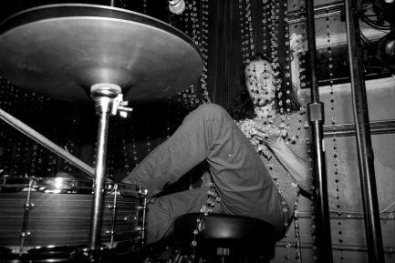 Drummer Dominic Billett of Toy Soldiers Blog