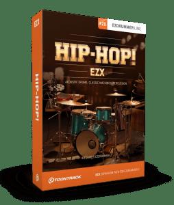 Toontrack EZdrummer 2 Hip-Hop EZX Expansion Pack