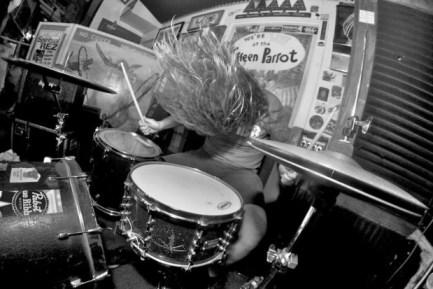 "Drummer Ian ""Meat"" Miller of Spiritual Rez"