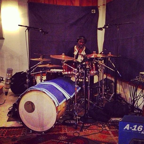 Drummer Isaac Teel of Tauk
