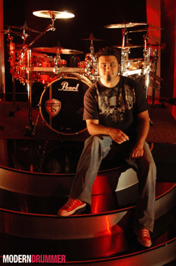 Jason Schmidt of Brian Davis Drummer Blog