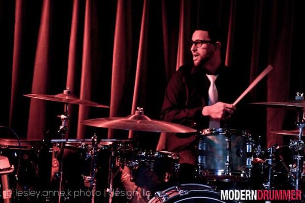 Drummer Jesse Marquardt of Winslow