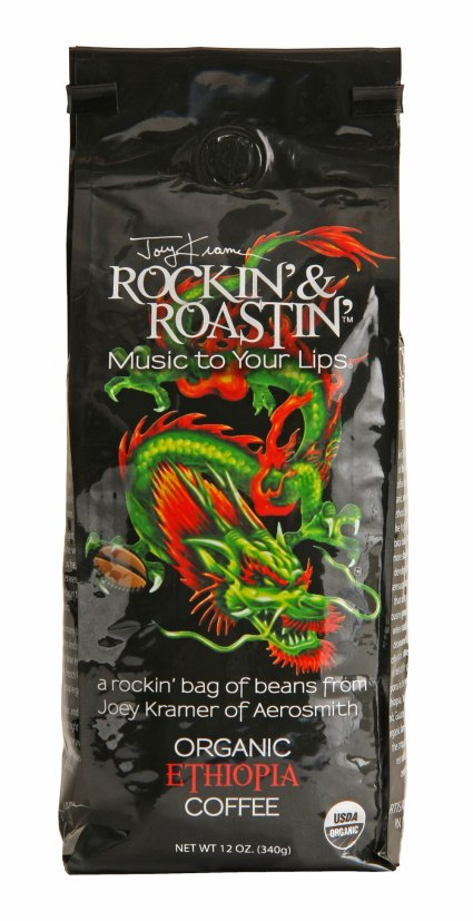 Joey Kramer of Aerosmith coffee