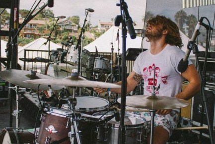 Drummer John Fontana of the Futures League blog
