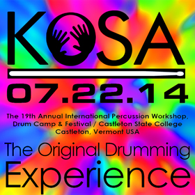 KoSA Percussion Workshops