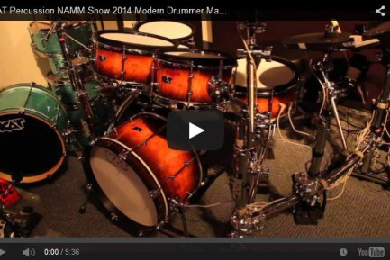VIDEO – KAT Percussion NAMM Show 2014 New Gear Coverage