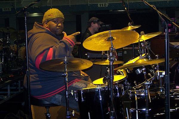"""Kenneth """"Big Eazy"""" Walker of the Lee Boys Drummer Blog"""