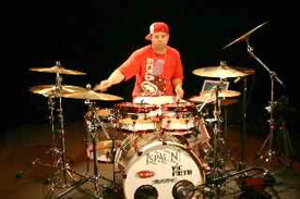 Drummer Lou Santiago Jr.