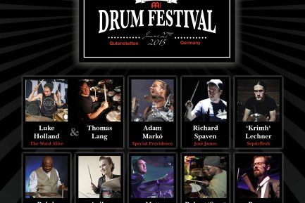 News: Tenth-Anniversary Meinl Drum Festival Lineup Announced!