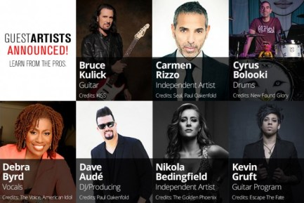 Musicians Institute's to Host World-Renowned Musicians for Special Clinics