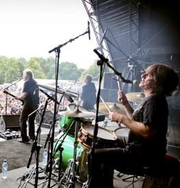 Drummer Marc LaFrance of Bachman & Turner