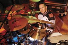 Drummer Mark Zonder of Slavior