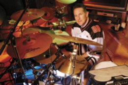 Drummer Mark Zonder of Slavior