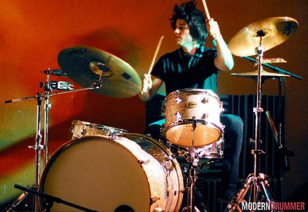 Matt Amadio of the Fleeting Ends Drummer Blog