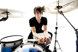 Drummer Mal Taylor of Your Vegas