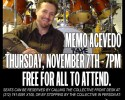 Drummer Memo Acevedo Free Drum Clinic