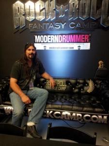 Mike Brennan ReverbNation/MD Fantasy Camp Winner