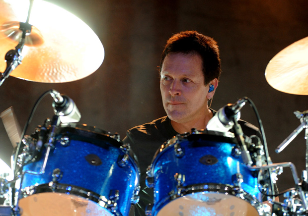 Goo Goo Dolls' Drummer Mike Malinin, Photo by Bob Mussell.