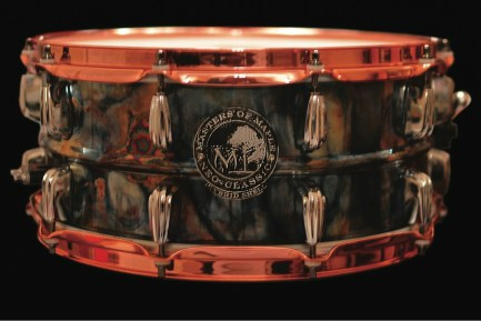 Masters of Maple Black Ugly Snare