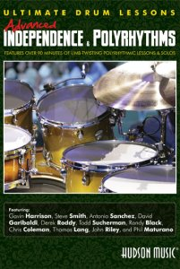 ULTIMATE DRUM LESSONS ADVANCED INDEPENDENCE & POLYRHYTHMS