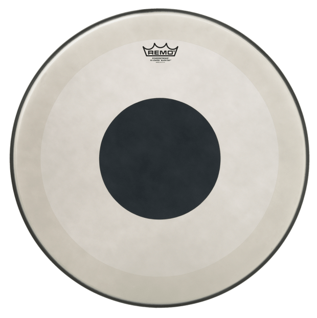Showroom: Remo Powerstroke 3 Black Dot  Drumhead