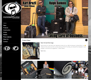 Protection Racket Redesigns Website