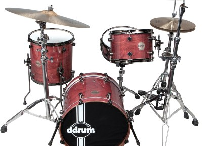 Paladin Walnut Ember Red ddrum drumkit