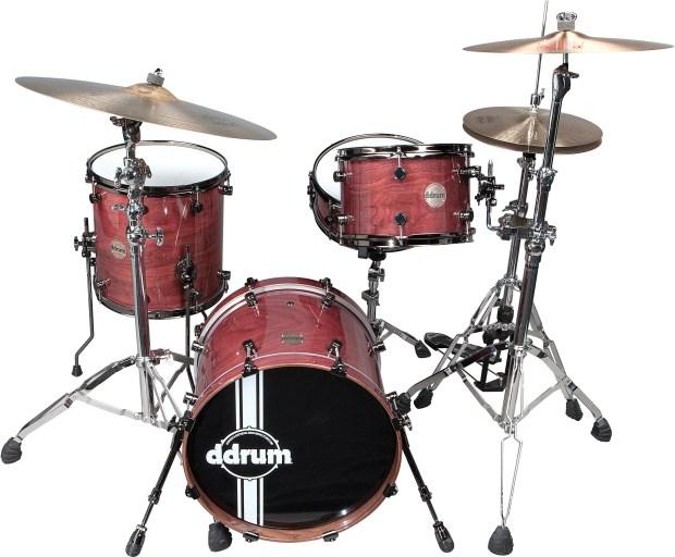 Paladin Walnut Ember Red ddrum drumkit
