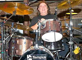 Drummer Pete Thompson