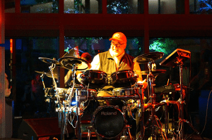 MD Columnist John Emrich Assists Peter Erskine With Multimedia Performance for KIN