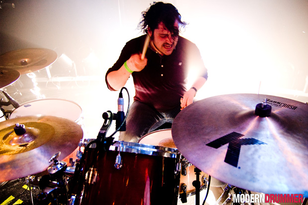 Piers Hewitt of the Boxer Rebellion Drummer Blog, Photo by Rob Funcken